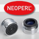 Aérateur Neoperl limitant la consommation d'eau