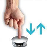 Bonde clic-clac universelle pour vasque et lavabo