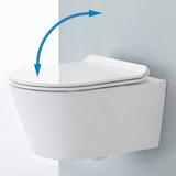 WC design aux formes rectangulaires